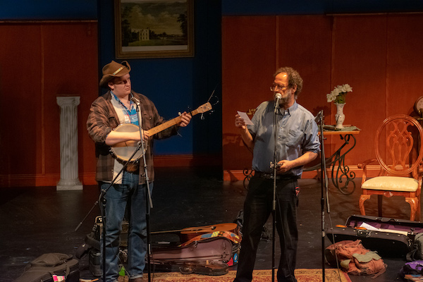 Fiddling Poets Ken Waldman and Willi Carlisle