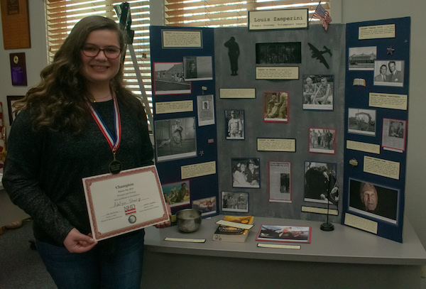 National History Day Exhibit Winner